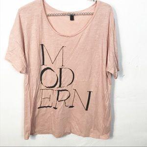 J. Crew l Modern Graphic T-shirt